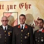 Das Kommando der FF-Sarasdorf