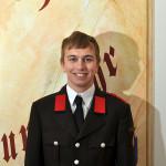 Dominik Laa, Feuerwehrmann